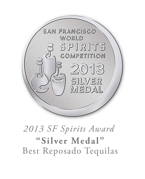 San Francisco World Spirits Competition Silver Reposado Tequila
