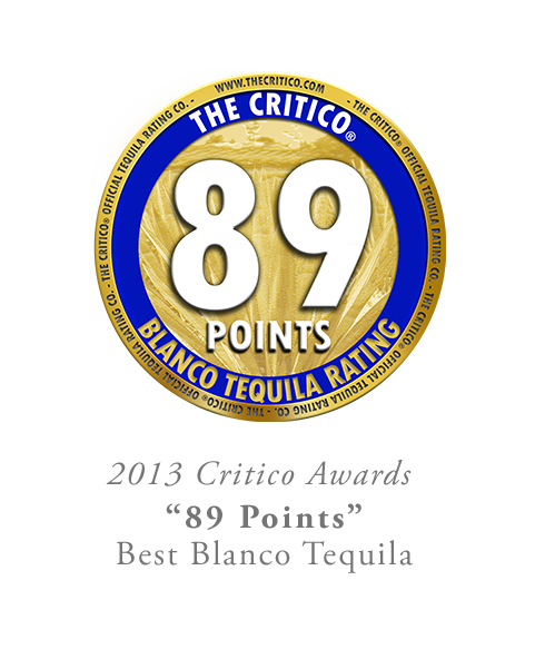 89 Points The Critico Blanco Tequila