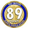 89 points critico medal