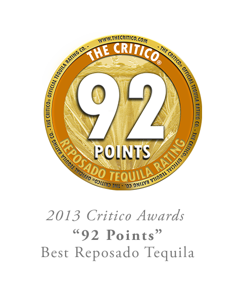 92 Points The Critico Reposado Tequila