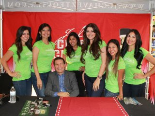 Julio Cesar Chavez Bottle Signing